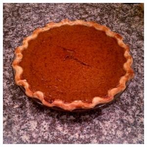 "Pumpkin ""Souffle"" Pie"